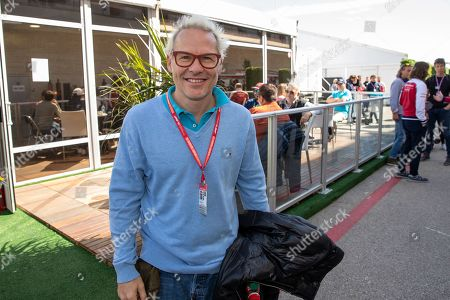 Canadian professional auto racing driver and amateur musician Jacques Villeneuve attends the 2019 F1 United States Grand Prix weekend at Circuit of the Americas