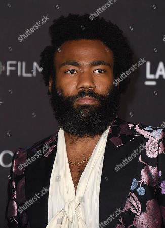 Donald Glover arrives at the 2019 LACMA Art and Film Gala at Los Angeles County Museum of Art, in Los Angeles