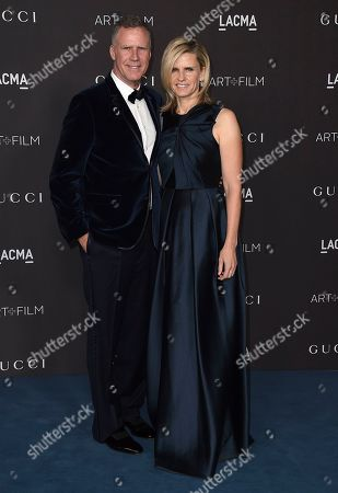 Viveca Paulin-Ferrell, Will Ferrell. Viveca Paulin-Ferrell and Will Ferrell arrive at the 2019 LACMA Art and Film Gala at Los Angeles County Museum of Art, in Los Angeles