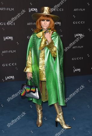 Stock Picture of Linda Ramone arrives at the 2019 LACMA Art and Film Gala at Los Angeles County Museum of Art, in Los Angeles