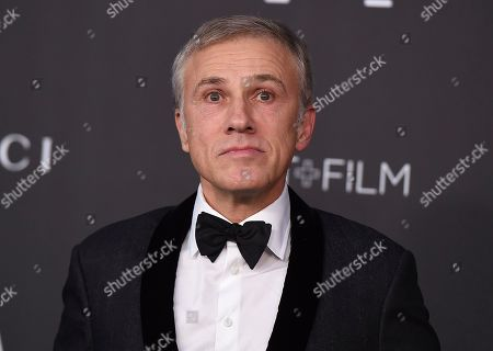 Christoph Waltz arrives at the 2019 LACMA Art and Film Gala at Los Angeles County Museum of Art, in Los Angeles