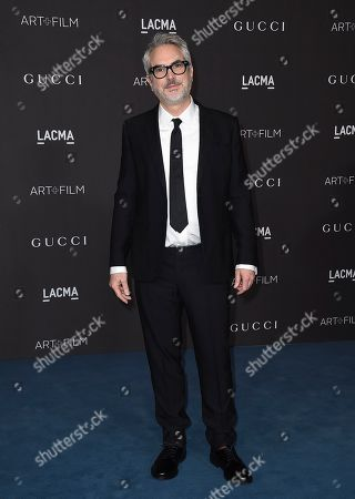 Alfonso Cuaron arrives at the 2019 LACMA Art and Film Gala at Los Angeles County Museum of Art, in Los Angeles