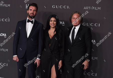 Mohamed Hadid arrives at the 2019 LACMA Art and Film Gala at Los Angeles County Museum of Art, in Los Angeles
