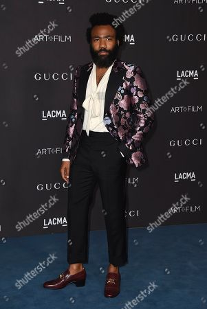 Donald Glover arrives at the 2019 LACMA Art and Film Gala at LACMA, in Los Angeles