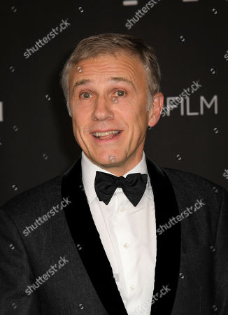 Austrian-German actor Christoph Waltz poses upon his arrival at the 2019 LACMA Art + Film Gala at the Los Angeles County Museum of Art in Los Angeles, California, USA, 02 November 2019.