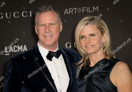 US actor Will Ferrell (L) and Swedish actress Viveca Paulin (R) pose upon their arrival at the 2019 LACMA Art + Film Gala at the Los Angeles County Museum of Art in Los Angeles, California, USA, 02 November 2019.