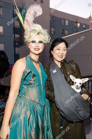Catherine Geeslin and Margaret Cho