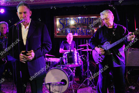 Editorial picture of Robert Gordon and Chris Spending in concert at the Stanhope house Stanhope, New Jersey, USA - 03 Nov 2019