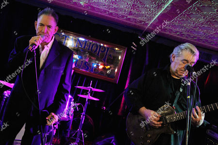 Editorial photo of Robert Gordon and Chris Spending in concert at the Stanhope house Stanhope, New Jersey, USA - 03 Nov 2019