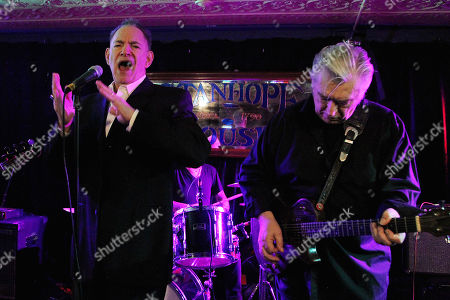 Stock Photo of Robert Gordon and Chris Spedding