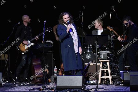 Jim James performs onstage during the Back 2 School Class of 2019 Benefit at the Palace Theatre, in Los Angeles