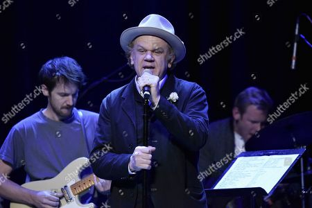 John C. Reilly performs onstage during the Back 2 School Class of 2019 Benefit at the Palace Theatre, in Los Angeles