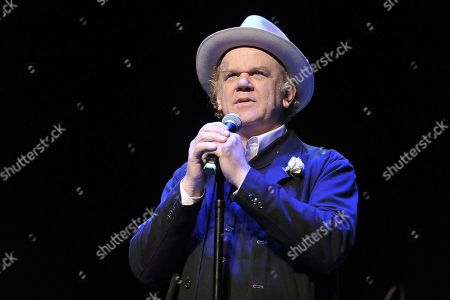 Stock Picture of John C. Reilly performs onstage during the Back 2 School Class of 2019 Benefit at the Palace Theatre, in Los Angeles