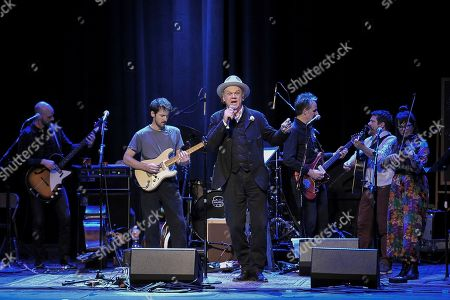 Stock Image of John C. Reilly performs onstage during the Back 2 School Class of 2019 Benefit at the Palace Theatre, in Los Angeles