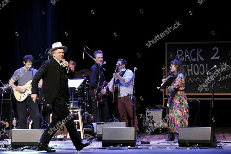 Stock Photo of John C. Reilly performs onstage during the Back 2 School Class of 2019 Benefit at the Palace Theatre, in Los Angeles