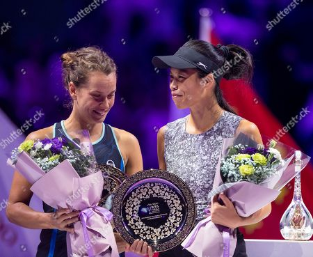 Editorial picture of WTA Finals 2019, Shenzhen, China - 03 Nov 2019