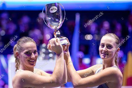 Editorial image of WTA Finals 2019, Shenzhen, China - 03 Nov 2019