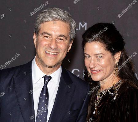 Stock Photo of Michael Govan and Katherine Ross