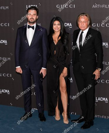 Mohamed Hadid and guests