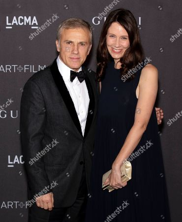 Christoph Waltz and guest