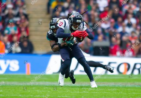 Editorial photo of NFL London Games, Houston Texans v Jacksonville Jaguars, Wembley Stadium, London, United Kingdom, 3rd November 2019