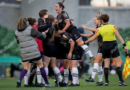 Editorial picture of Só Hotels FAI Women's Cup Final, Aviva Stadium, Lansdowne Rd, Co. Dublin  - 03 Nov 2019