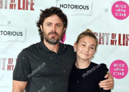 Casey Affleck and Anna Pniowsky