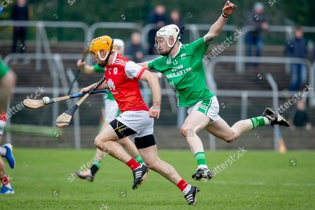 Stock Picture of St. Mullin's vs Cuala. St. Mullin's Jason O'Neill with Paul Schuute of Cuala