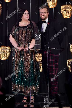Exclusive - Sharon Rooney and Iain Stirling
