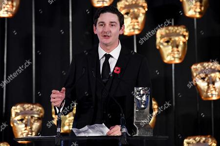 Exclusive - James Harkness collecting Actress Film - Wild Rose on behalf of Jessie Buckley