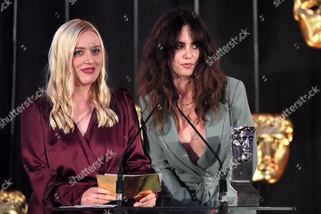 Stock Image of Exclusive - Rachel Jackson and Amy Manson
