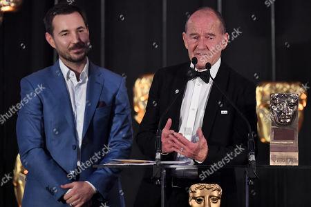 Exclusive - Martin Compston and David Hayman