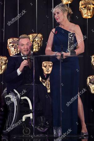Stock Image of Exclusive - Martin Dougan and Carol Kirkwood