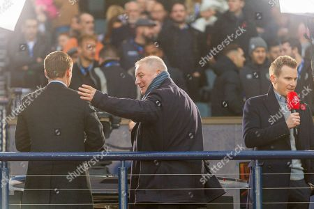 Ex Rangers and Scotland Ally McCoist during the Betfred Scottish League Cup semi-final match between Rangers and Heart of Midlothian at Hampden Park, Glasgow