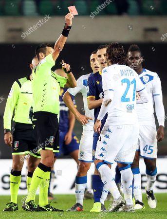 Editorial image of Hellas Verona vs Brescia Calcio, Italy - 03 Nov 2019