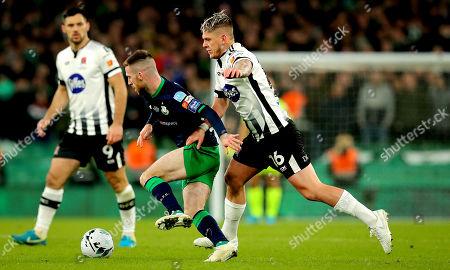 Editorial photo of Extra.ie FAI Cup Final, Aviva Stadium. Lansdowne Rd, Co. Dublin  - 03 Nov 2019