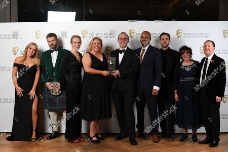 Exclusive - Dave Martin, Zoe Hunter, Lou Brown, Toby Stevens, Dave Donald, Ryan Meloy, Gillian Hamilton - Entertainment - Last Commanders, presented by Joy McAvoy and Jonathon Watson