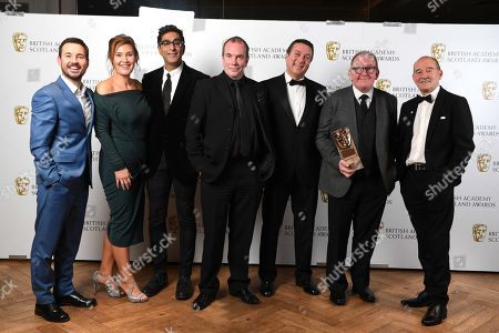 Exclusive - Jane McCarry, Sanjeev Kohli, Gavin Mitchell - Outstanding Contribution To Television - Still Game, presented by Martin Compston and David Hayman