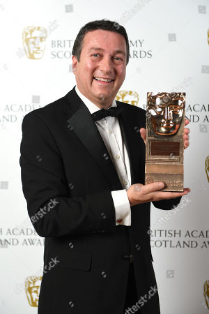 Stock Picture of Exclusive - Gregory Edward Hemphill - Outstanding Contribution To Television - Still Game