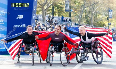 Editorial image of 2019 New York City Marathon, USA - 03 Nov 2019
