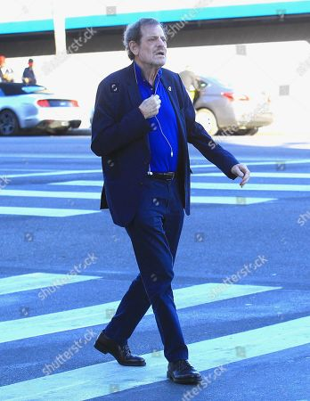 Editorial photo of Howard Rosenman out and about, Los Angeles, USA - 02 Nov 2019