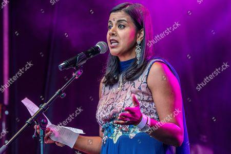 Stock Photo of Pooja Shah who plays 'Eastenders' character Kareena Ferreira