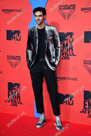 Juan Betancourt attends the MTV European Music Awards 2019 (MTV EMA 2019), held at the FIBES Conference and Exhibition Centre in Seville, Andalusia, Spain, 03 November 2019.