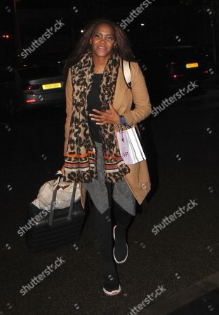 Editorial image of 'Strictly Come Dancing' TV show contestants out and about, London, UK - 03 Nov 2019