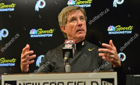 Washington Redskins head coach Bill Callahan answers questions after an NFL football game against the Buffalo Bills, in Orchard Park, N.Y