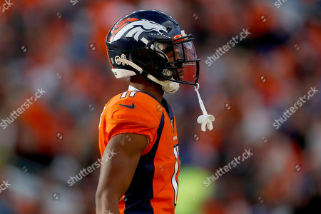 Denver Broncos wide receiver Diontae Spencer (11) during the first half of NFL football game against the Cleveland Browns, in Denver