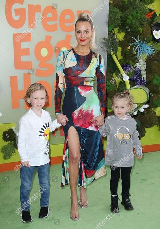 Dorit Kemsley and children Jagger Kemsley and Phoenix Kemsley