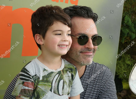 Reid Scott and son