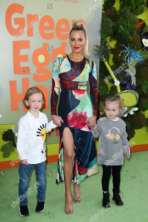 Dorit Kemsley with children Jagger Kemsley and Phoenix Kemsley