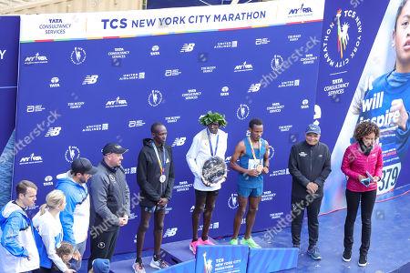 Editorial picture of New York City Marathon, USA - 03 Nov 2019